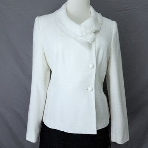 Worthington Jackets & Coats - Winter White Fitted Blazer Sz 8
